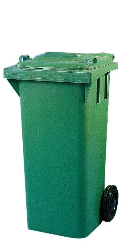 Industribeholder, 120 liter, grøn