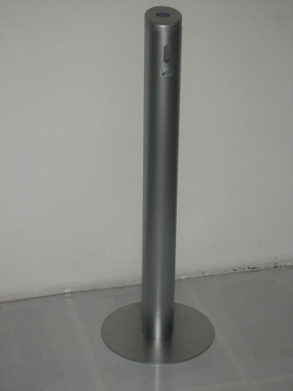 Rør-askebæger i sølv