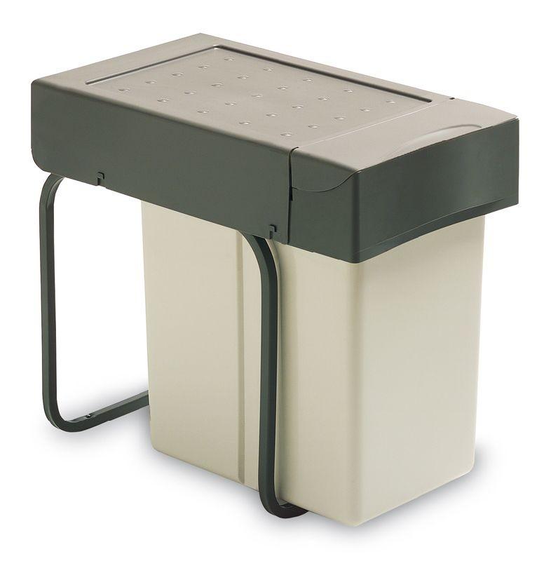 Affaldskabinet i lys plast