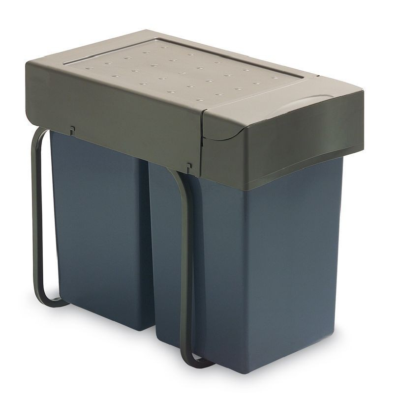 Affaldskabinet grå plast