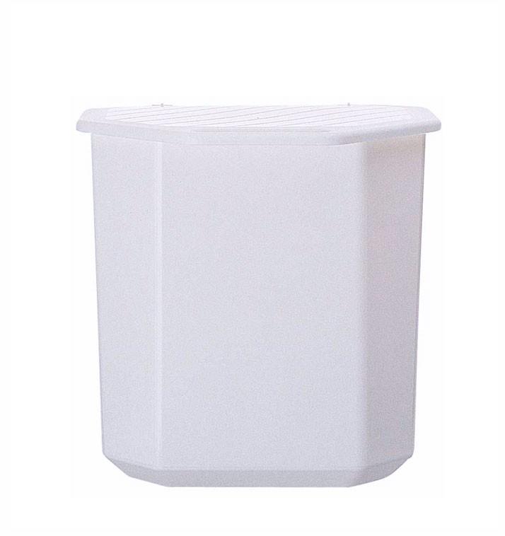 Eva affaldsbeholder, 12 liter, elfenben