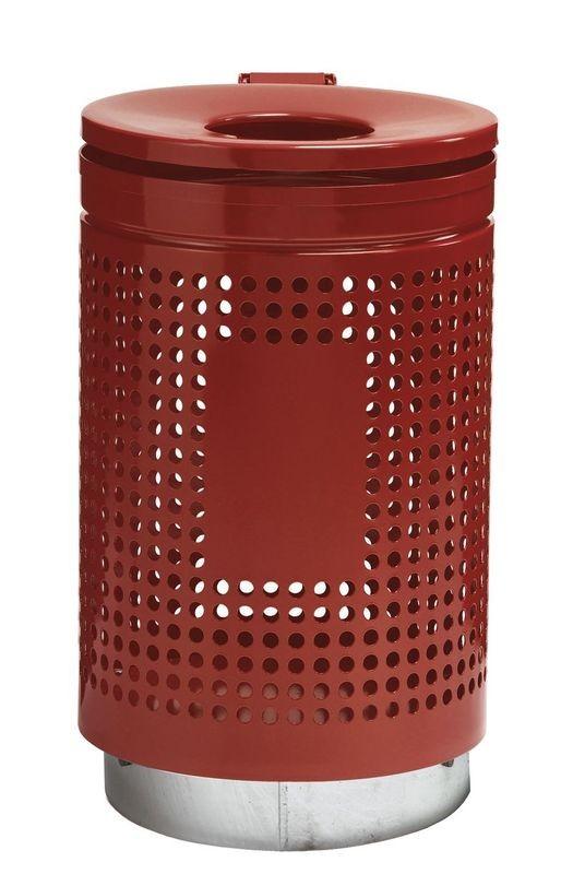 Model 823 – uden lås, Rød RAL 3000
