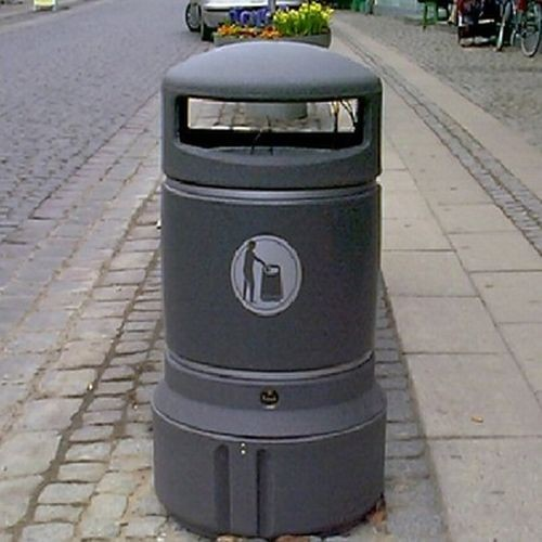 Mini Plaza i plast udendørs (63 liter)