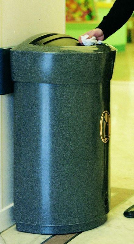 Miljøbox i plast udendørs (90 liter)