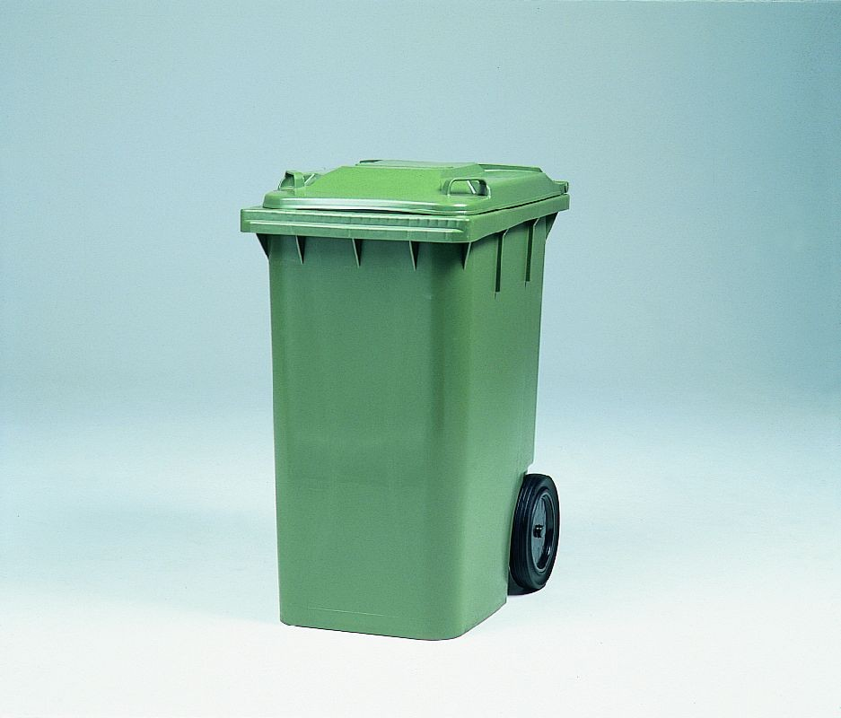 Industribeholder, 240 liter, grøn