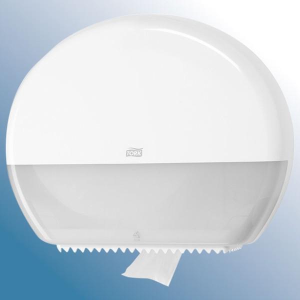 Dispenser , hvid til gigant ruller toiletpapir