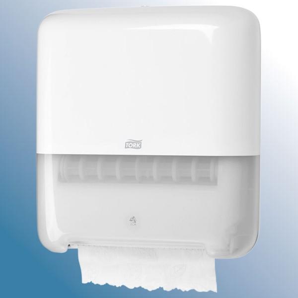 Dispenser, hvid til håndklæderulle