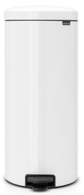 Pedalspand, 30 liter, hvid